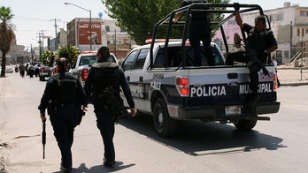 Mexican cartel gunmen kidnap and beat 11 police officers