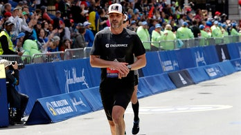 NASCAR's Jimmie Johnson completes Boston Marathon less than two days after Cup Series race