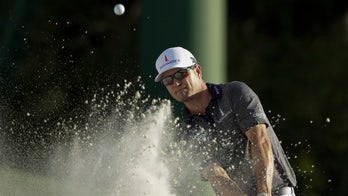 Zach Johnson, in Masters mishap, accidentally hits ball during practice swing: 'That's embarrassing'