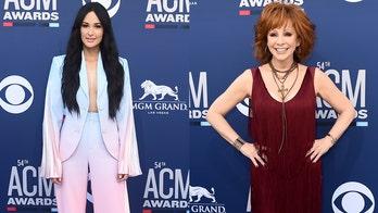Kacey Musgraves slammed on social media for not standing for Reba McEntire's ACM awards performance