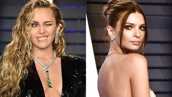 Miley Cyrus, Emily Ratajkowski strip down for Easter