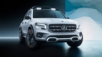 The Mercedes-Benz GLB SUV looks ready to get down and dirty