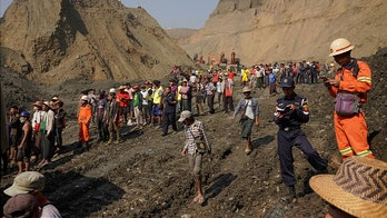 Myanmar jade mine collapses after mudslide, potentially trapping, killing dozens