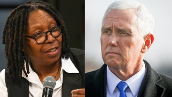 Whoopi Goldberg calls for Mike Pence and 2020 candidates to condemn hate crimes, attacks on houses of worship