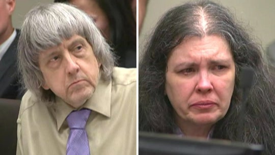 California 'house of horrors' parents sentenced to life in prison