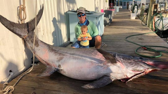 757-pound swordfish caught near Florida Keys
