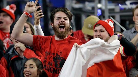 Police use tear gas as Texas Tech basketball victory sparks 'fandemonium'