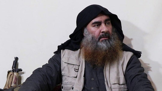 ISIS leader al-Baghdadi pictured for first time since 2014, intel group says