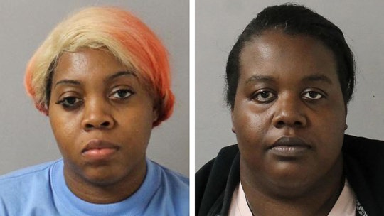 2 sisters charged with assaulting family at Tennessee funeral home