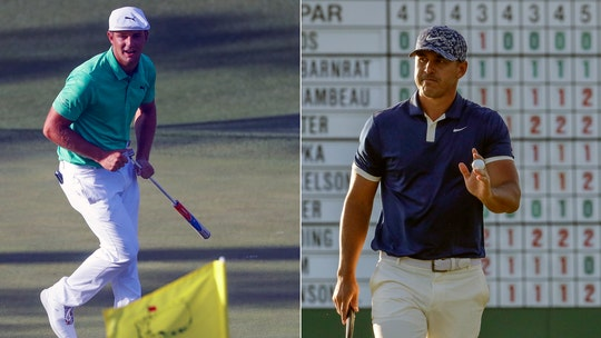 Masters Tournament: Brooks Koepka, Bryson DeChambeau share 18-hole lead at Augusta
