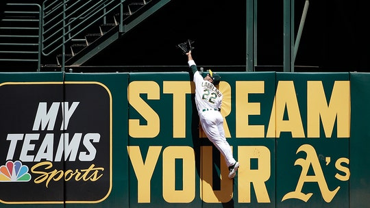 Oakland Athletics turn wild double play starting with home run robbery