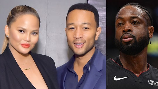 Dwyane Wade ruins Chrissy Teigen, John Legend's date night with courtside crash at NBA game
