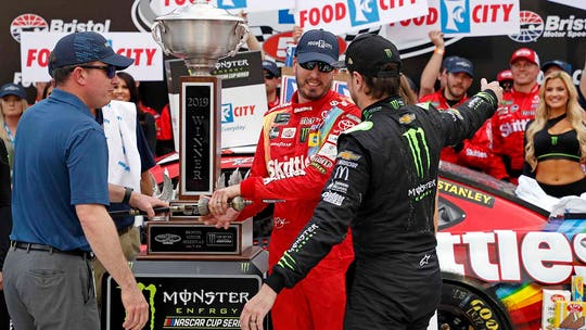 Busch brothers take top 2 spots at Bristol NASCAR race as Kyle picks up 8th win
