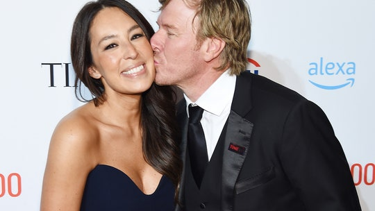 Chip and Joanna Gaines can't keep their hands off of each other at Time 100 Gala