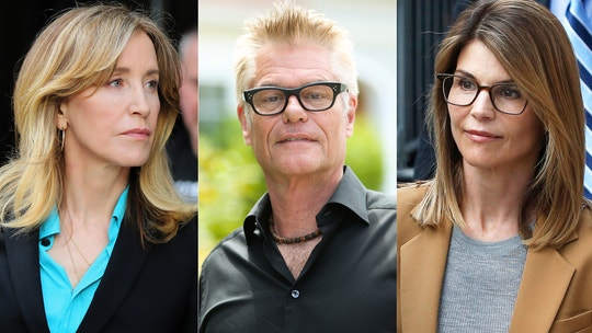 Harry Hamlin says Lori Loughlin, Felicity Huffman college scandal is a 'real shame mainly for the kids'