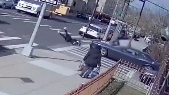 NYPD releases video showing hit-and-run driver striking 14-year-old pedestrian