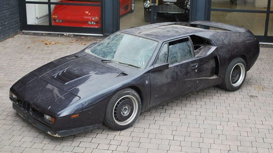 Legendary long-lost BMW M1 speed record supercar unearthed from London garage