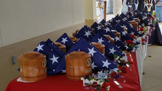 Missing in America Project buries 42 'unclaimed' veterans in Texas and Florida