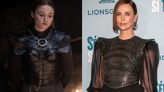 Charlize Theron channels 'Game of Thrones' character Sansa Stark