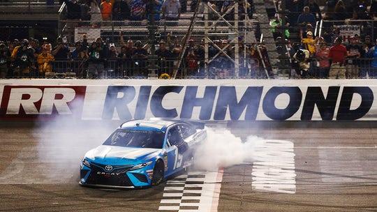 Truex Jr. takes Richmond NASCAR race