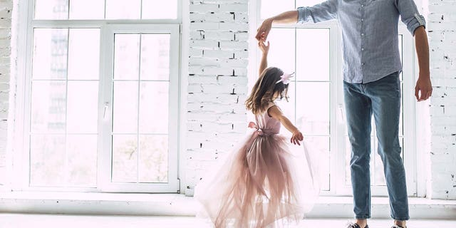 Though the couple's daughter is only two-years-old and the situation is theoretical, the man told his wife he didn't like the practice in general.