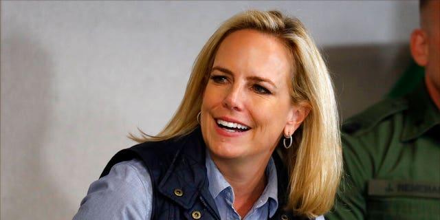 Kirstjen Nielsen left her role as secretary of Homeland Security on April 7.