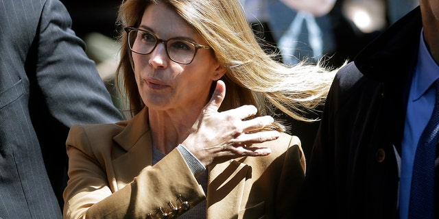 Lori Loughlin and her husband Mossimo Giannulli will be sentenced on Friday.