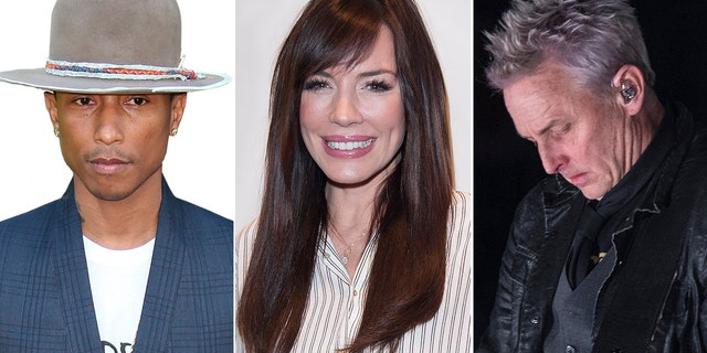 From l-r: Pharrell Williams, Krista Allen and Mike McCready all celebrate their birthday on April 5.