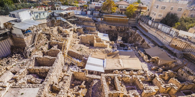 Givati Parking Lot Excavations in the City of David, where the discoveries were made.