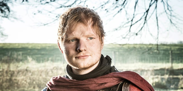 Ed Sheeran guest starred on HBO's 'Game of Thrones.'