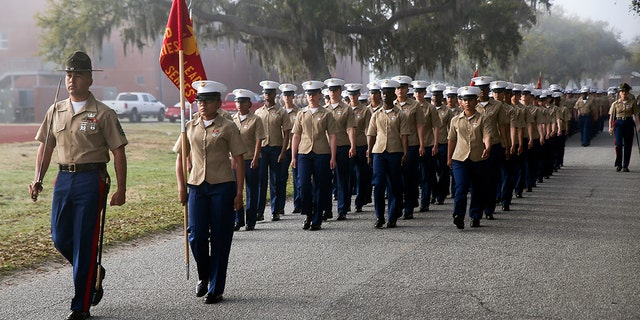 Marines could be ending longtime policy of separating male, female recruits during boot camp