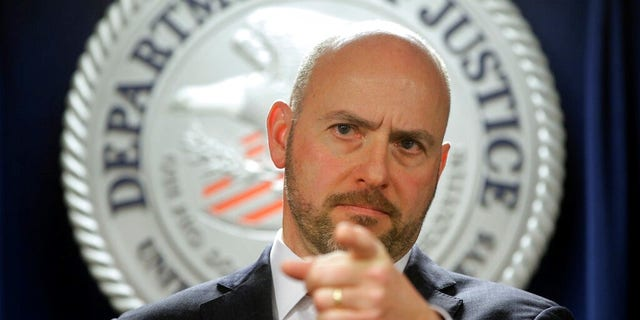Andrew Lelling, U.S. Attorney for the District of Massachusetts, announced charges against Newton, Mass., District Court Judge Shelley M. Richmond Joseph and a former court officer on obstruction of justice for allegedly helping a man in the country illegally evade immigration officials as he left the courthouse after a hearing.