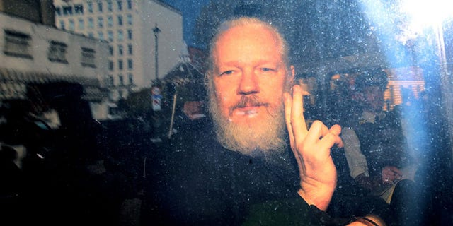 """Julian Assange was arrested after Ecuador withdrew his asylum for """"repeatedly violating international conventions and protocol."""""""