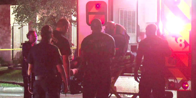 A home invasion in Houston turned deadly Tuesday evening after one of three suspects was fatally shot in the head by the son of the home.
