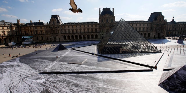 """It is to be expected that it would be damaged, but we did not know how quickly it would happen,"" a spokesperson for the Louvre told media."
