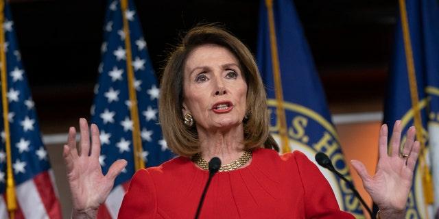 House Speaker Nancy Pelosi, D-Calif., is seen above. (AP Photo/J. Scott Applewhite)