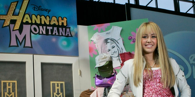 Miley Cyrus in a June 19, 2007 file photo.