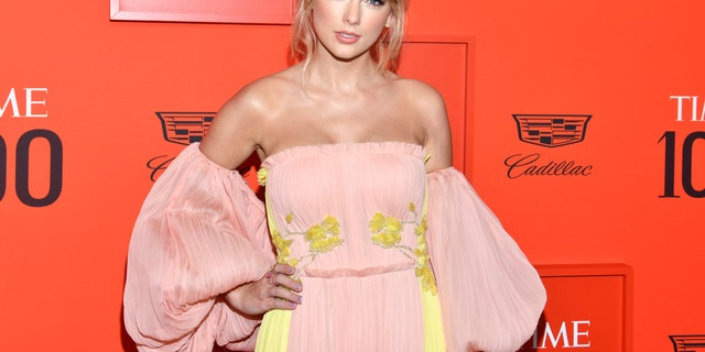 Taylor Swift attends the Time 100 Gala, celebrating the 100 most influential people in the world in New York.