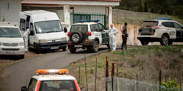 The bodies of a German woman and her 10-year-old son were found in a cave in the Canary island of Tenerife, on Wednesday said the Civil Guard, adding that the boy's father, who was also German, had been arrested.
