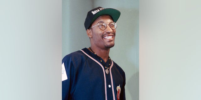 "This July 13, 1991 file photo shows filmmaker John Singleton, who made the movie ""Boyz N The Hood,"" in Los Angeles."