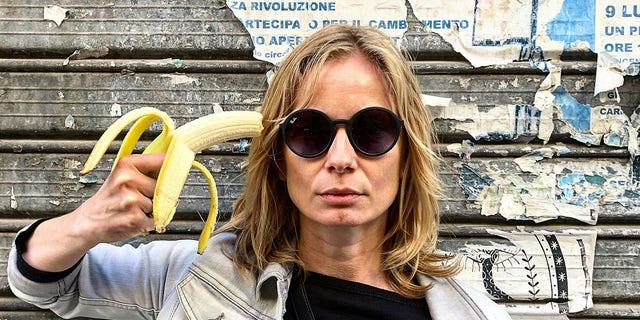 Westlake Legal Group AP19119398065080 Ban on banana-based artwork at Polish museum fuels banana-based protests fox-news/travel/general/museums-exhibits fox-news/food-drink/food fnc/food-drink fnc Associated Press article 347ea978-ba19-5fdc-b4f6-462fbf1d644d