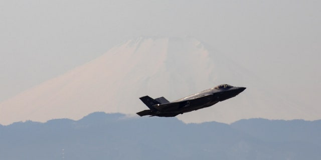 File photo - A U.S. Air Force F-35A Lightning II assigned to the 34th Fighter Squadron takes off at Yokota Air Base, Japan, Feb. 9, 2018, after supporting of the vice president's visit to Japan. (U.S. Air Force photo by Yasuo Osakabe)