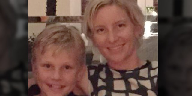 Alex Nicholson, 11, left, and his mother, Anita, 42, right, were killed; father Ben survived, while the family's youngest daughter was missing. (Facebook)