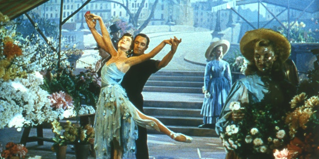The main characters of 'An American in Paris' fall in love in the shadow of Notre Dame.