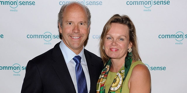FILE: John Delaney and April Delaney attend the 7th Annual Common Sense Media Awards honoring Bill Clinton at Gotham Hall on April 28, 2011 in New York City. (Photo by Jason Kempin/Getty Images for Common Sense Media)