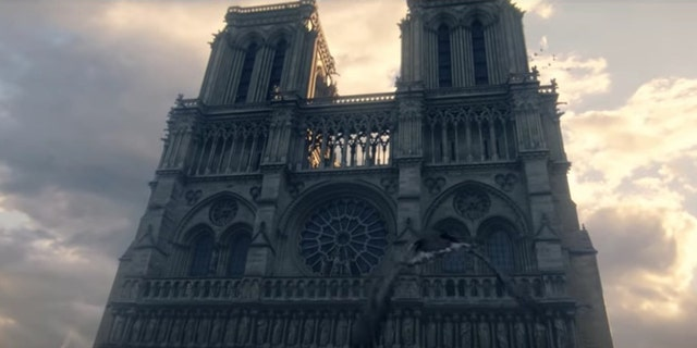 "Screenshot from ""Assassin's Creed Unity"" E3 2014 World Premiere Cinematic Trailer (Ubisoft)"