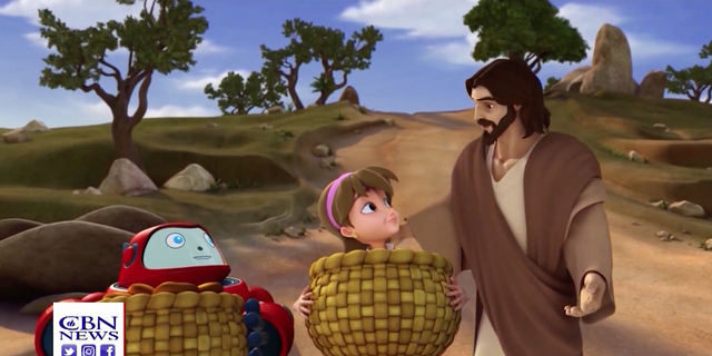 Superbook is a program offered by the Christian Broadcasting Network that connects children to the Bible in an animated way.