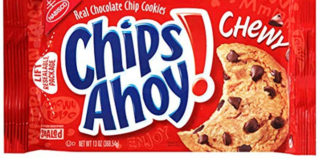 """The recall effects 13oz packages of Chewy Chips Ahoy cookies that's retail UPC number is """"0 44000 03223 4"""" and has a """"best when used by"""" date of Sept. 7, 2019; Sept. 8, 2019; Sept. 14, 2019; or Sept. 15, 2019, the company said in a news release."""