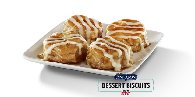 TheCinnabon Dessert Biscuits are available for a limited time while supplies last.
