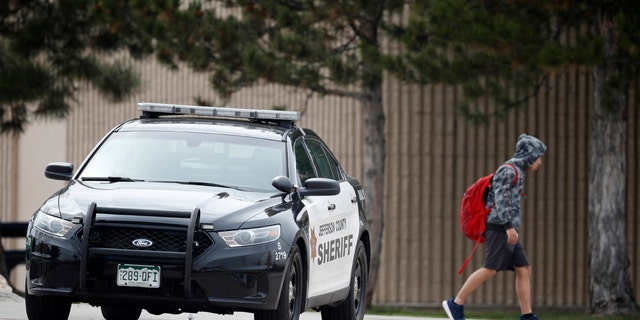 Following a lockdown at Columbine High School and other Denver area schools, authorities had sought a woman suspected of making threats.